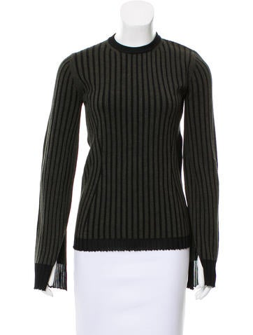 Pringle of Scotland Ribbed Wool Sweater None