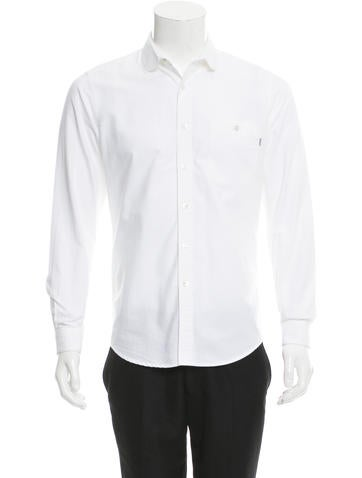 Patrik Ervell Long Sleeve Button-Up Shirt None