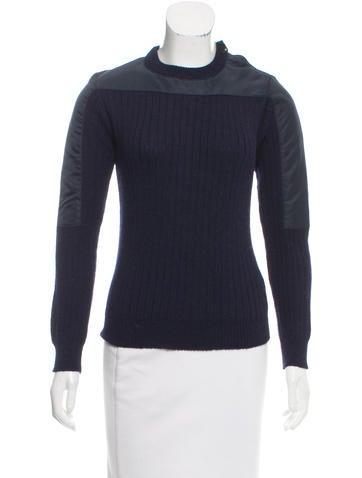 Patrik Ervell Alpaca Rib Knit Sweater None