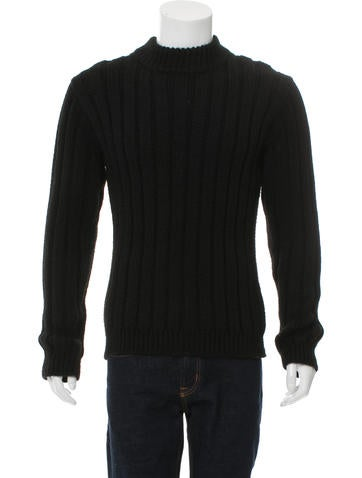 Patrik Ervell Rib Knit Pullover Sweater None