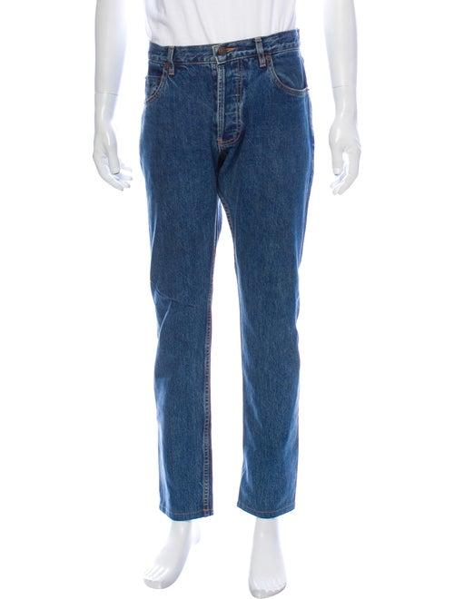 Patrik Ervell Skinny Jeans Blue