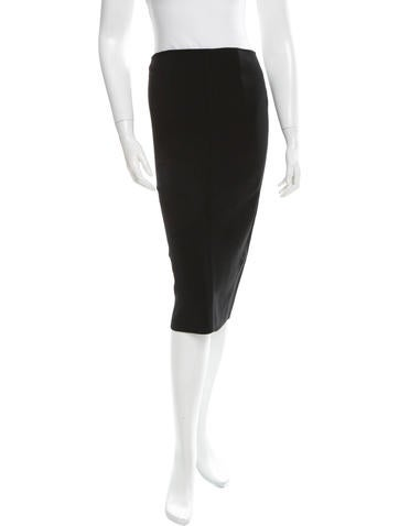 Proenza Schouler Rib Knit Pencil Skirt w/ Tags None
