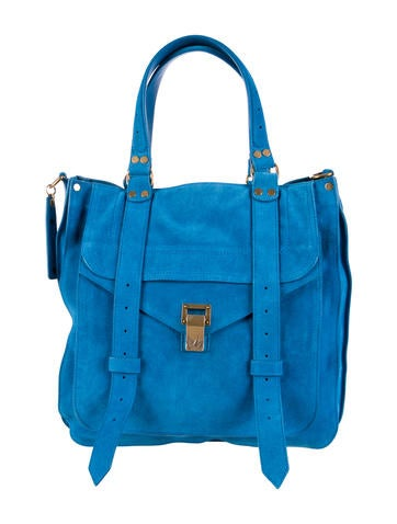 Small PS1 Suede Satchel