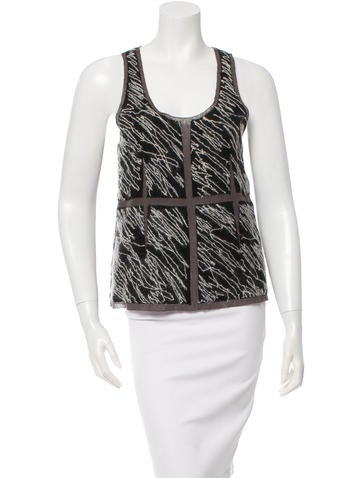 Proenza Schouler Sleeveless Wool Knit Top w/ Tags None