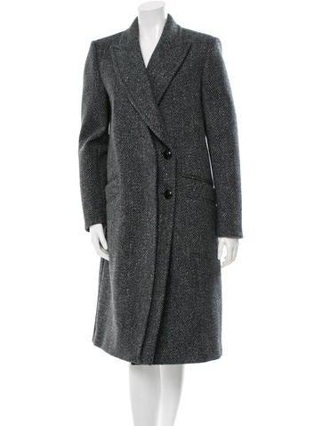 Proenza Schouler Tailored Tweed Coat w/ Tags