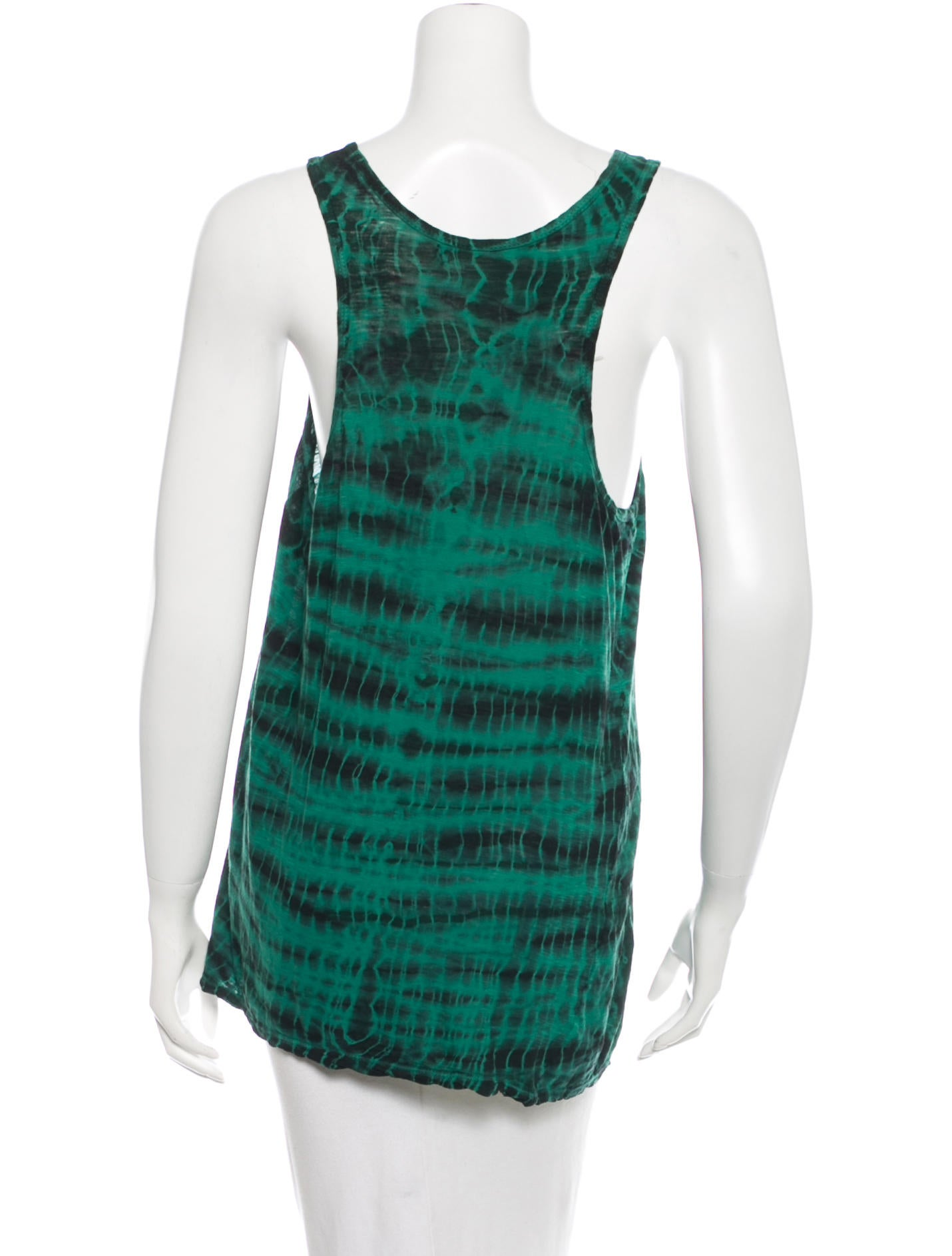 Proenza schouler tie dye sleeveless dress clothing for Tie dye sleeveless shirts
