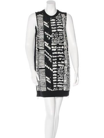 Proenza Schouler Sleeveless Mini Dress None