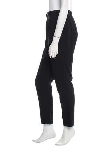 Belted Track Pants