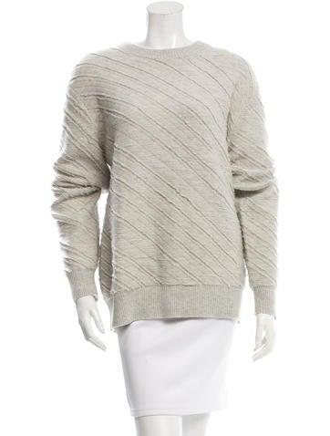 Proenza Schouler Textured Wool Sweater None