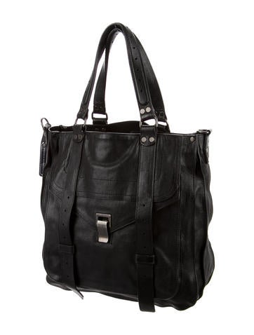 Leather PS1 Tote