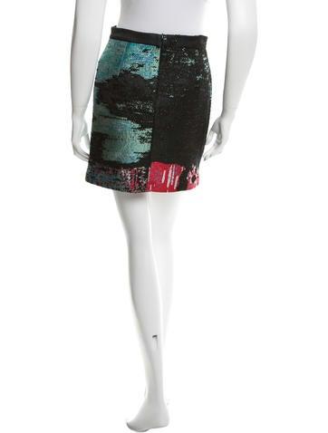 Brocade Min Skirt