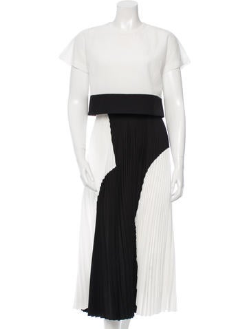 Proenza Schouler Pleated Midi Dress