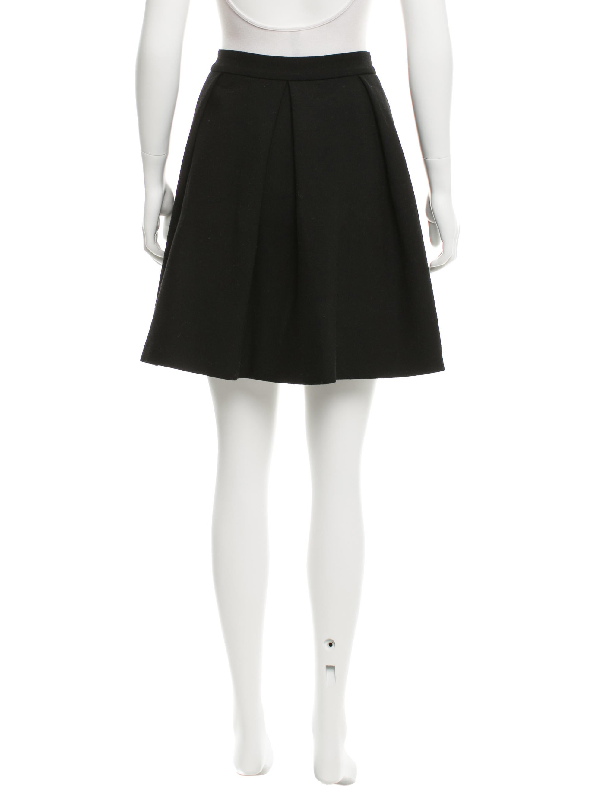 proenza schouler pleated wool skirt clothing pro31381