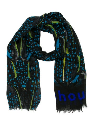 Proenza Schouler Cashmere & Silk Abstract Scarf None