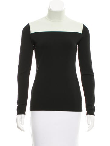 Proenza Schouler Colorblock Turtleneck Top None