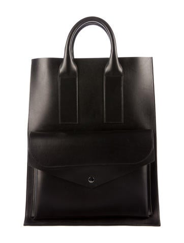 Proenza Schouler Smooth Leather Tote None