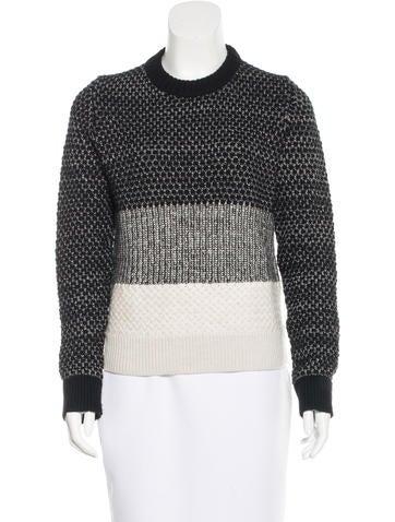 Proenza Schouler Wool Textured Sweater None