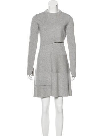 Proenza Schouler Wool & Cashmere-Blend Sweater Dress w/ Tags None