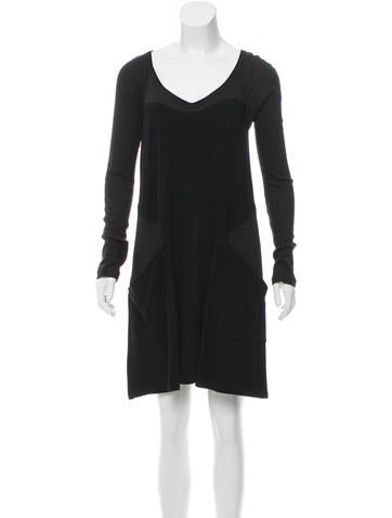 Proenza Schouler Tent Scoop Neck Dress None