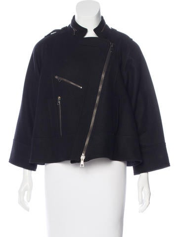 Proenza Schouler Wool & Cashmere Jacket None