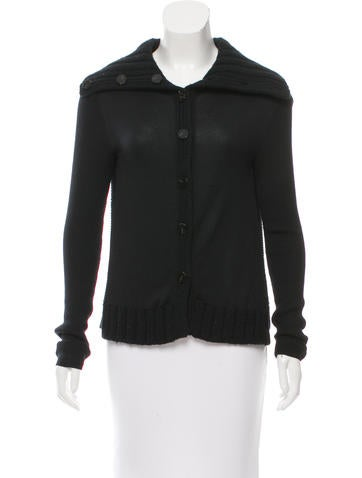 Proenza Schouler Silk Knit Cardigan None