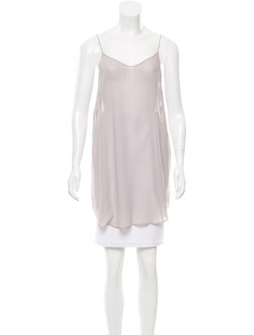 Proenza Schouler Sheer Sleeveless Top None