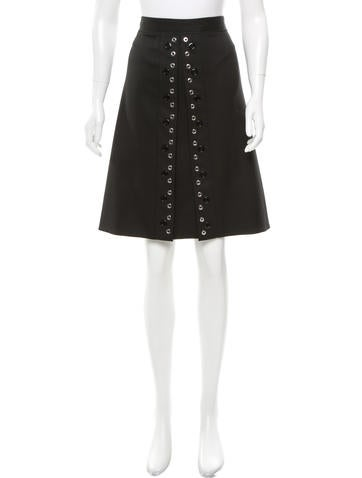 Proenza Schouler Embellished Wool Skirt w/ Tags
