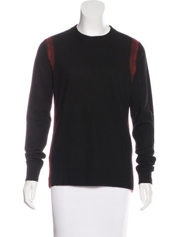 Proenza Schouler Wool Rib Knit Sweater None