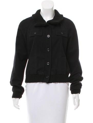 Proenza Schouler Long Sleeve Wool Jacket None