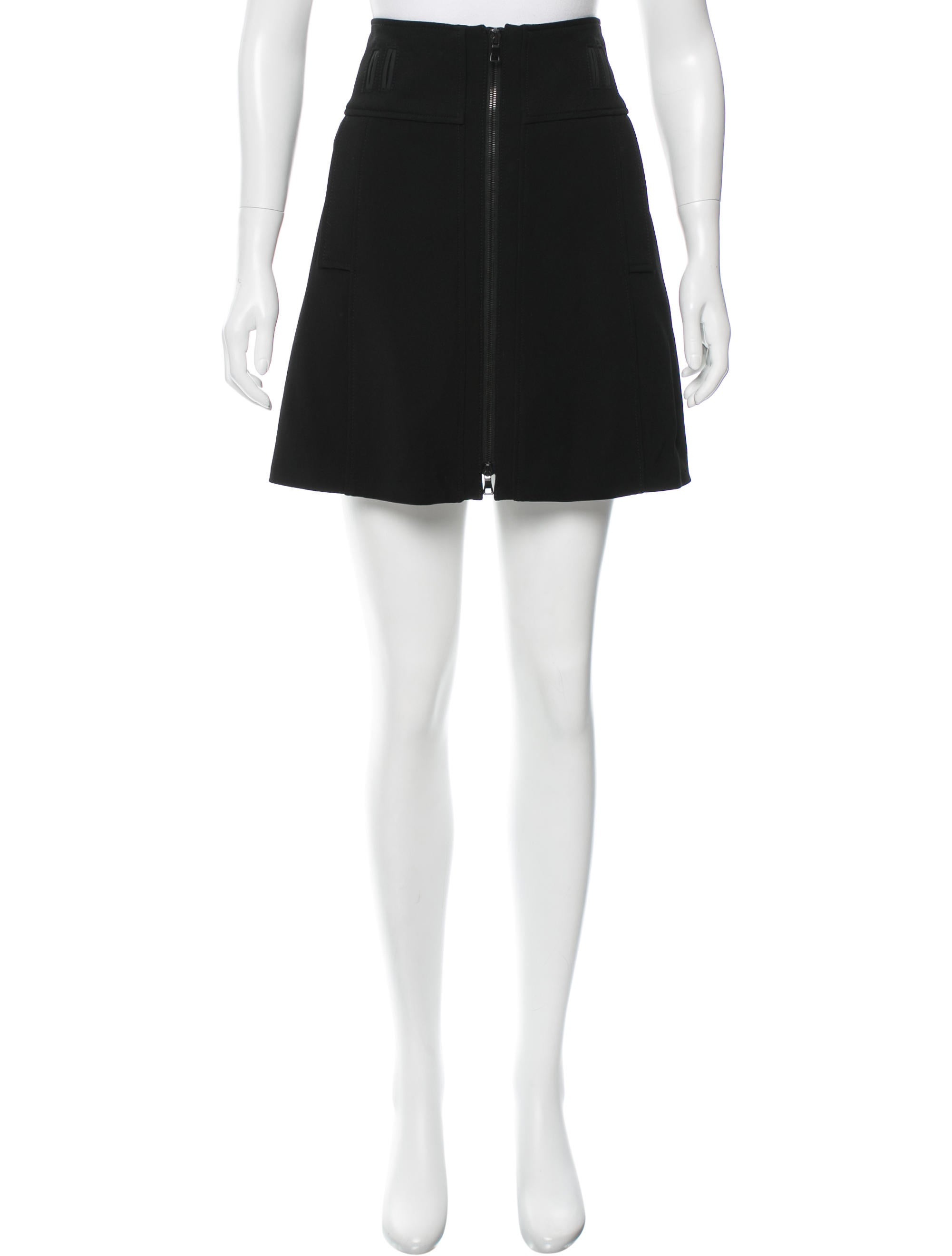 proenza schouler structured a line skirt clothing