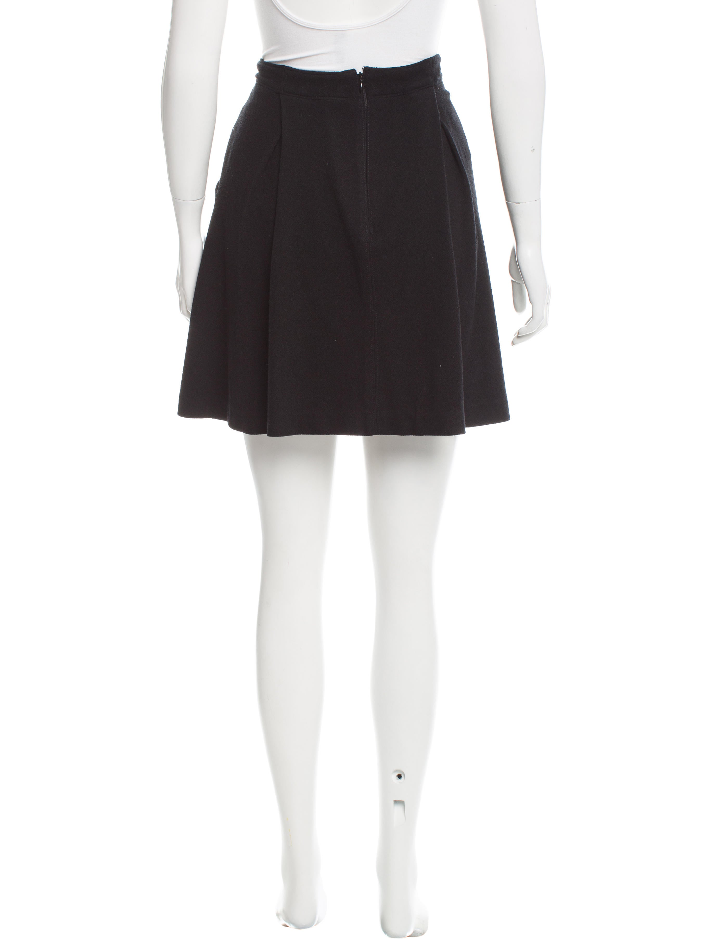 proenza schouler pleated mini skirt clothing pro34242