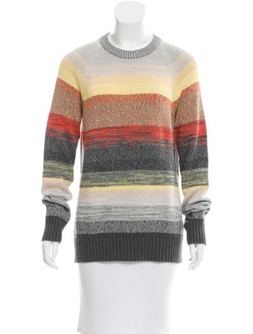 Proenza Schouler Knit Long Sleeve Sweater None