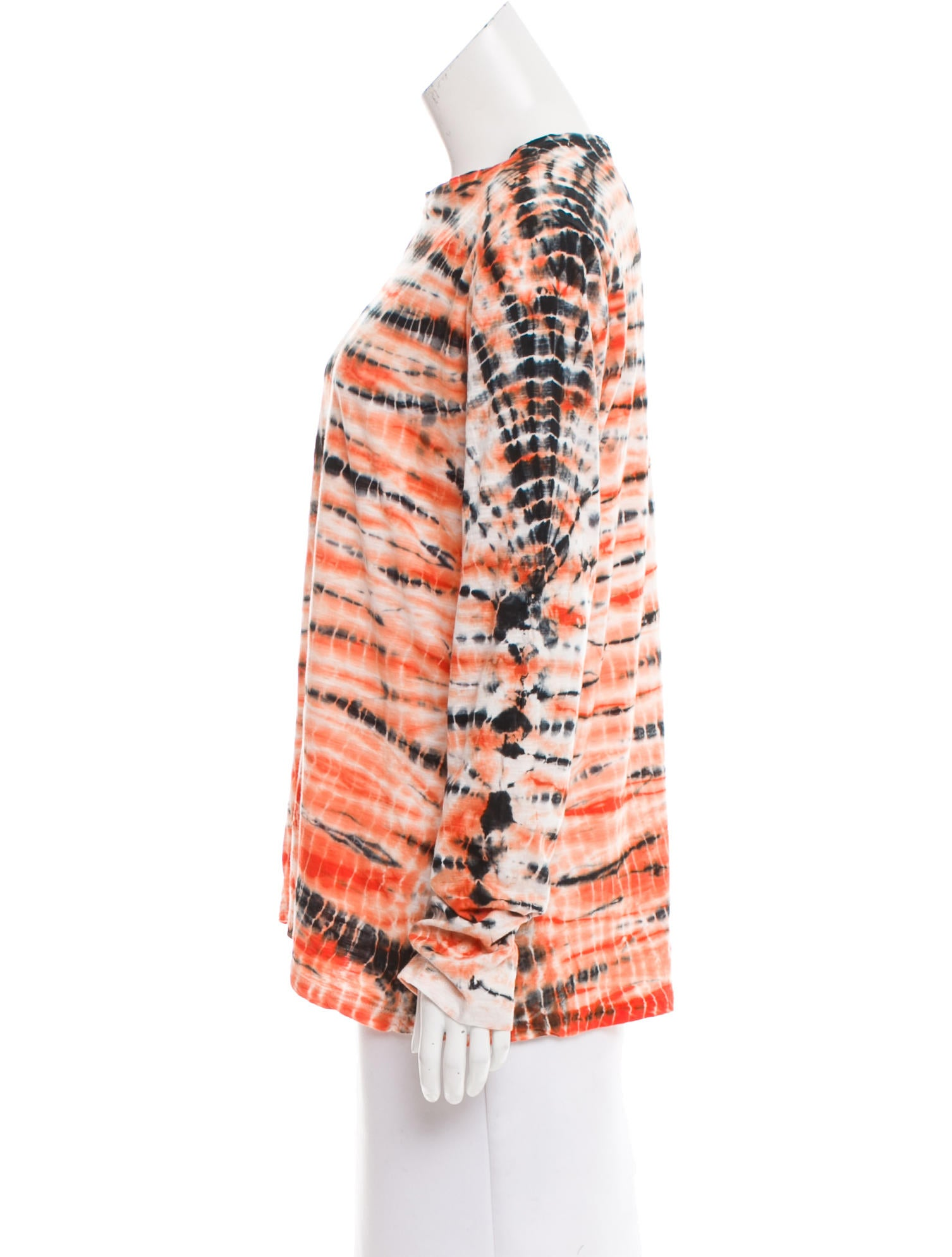 Proenza schouler tie dye printed top clothing pro34623 for Tie dye printed shirts