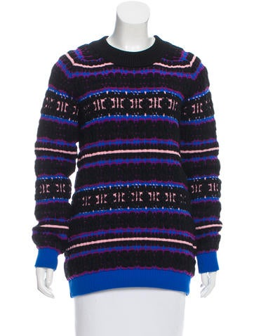 Proenza Schouler Textured Wool Sweater None
