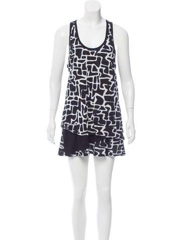 Proenza Schouler Printed Casual Dress None