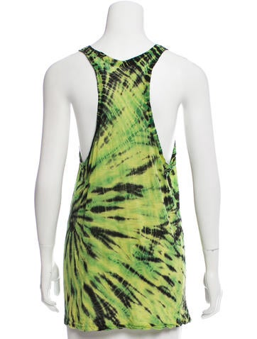 Proenza schouler tie dye sleeveless top clothing for Tie dye sleeveless shirts