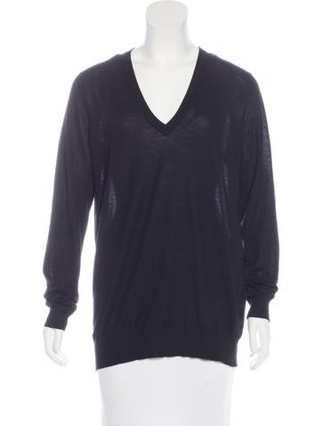 Proenza Schouler Wool Long Sleeve Sweater None