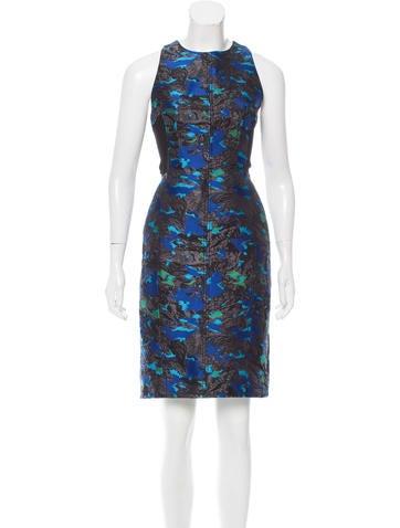 Proenza Schouler Silk-Blend Midi Dress None