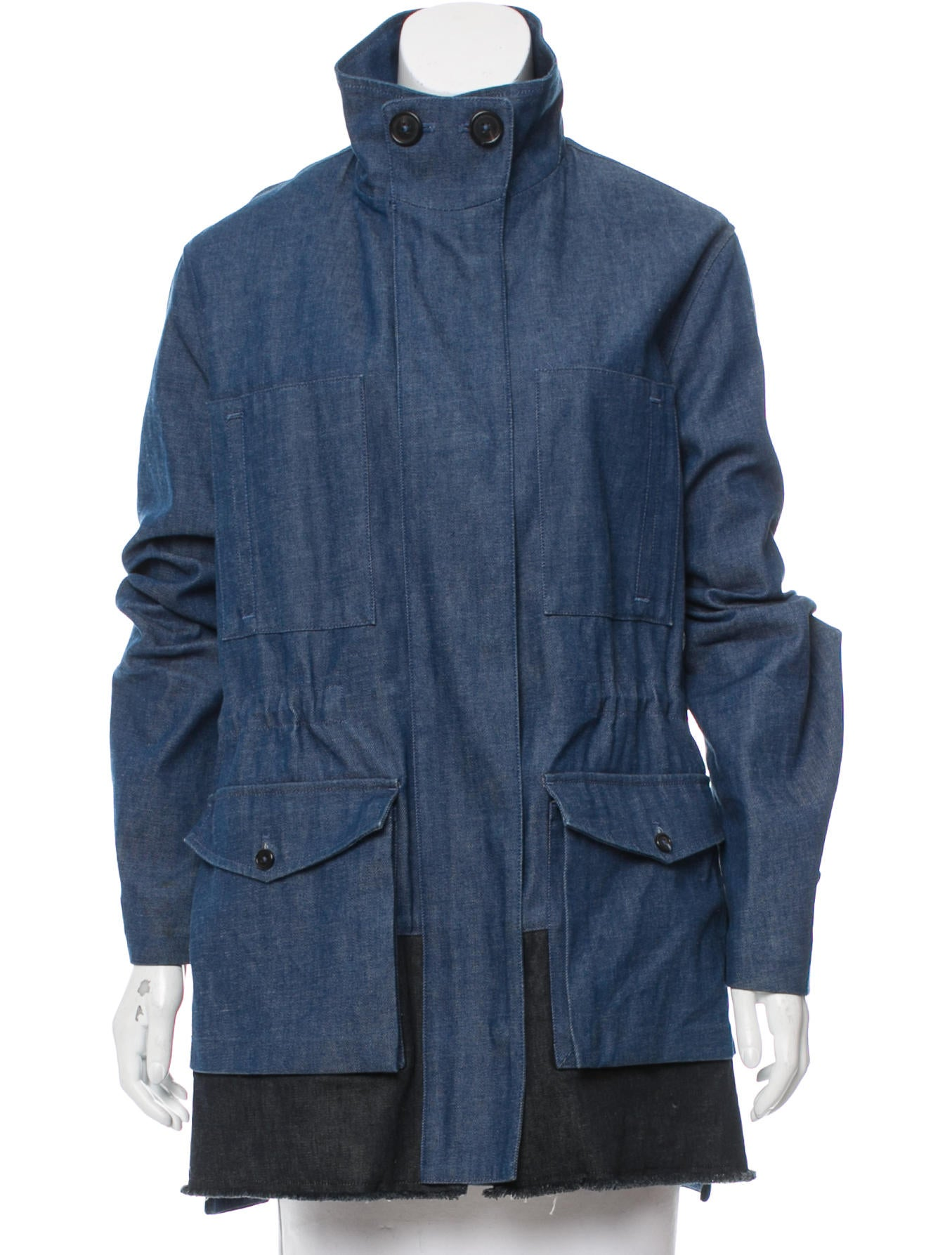 Drawstring Clothing Denim Pro36693The Proenza Schouler Jacket hdCstQr