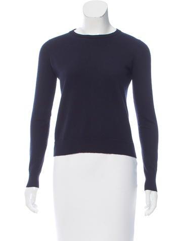 Proenza Schouler Wool Long Sleeve Sweater None