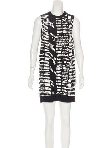 Proenza Schouler Sleeveless Sweater Dress None