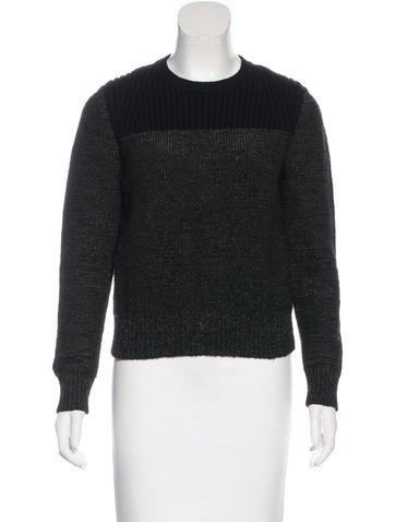 Proenza Schouler Wool-Blend Knit Sweater None