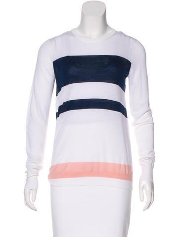 Proenza Schouler Wool Colorblock Sweater None
