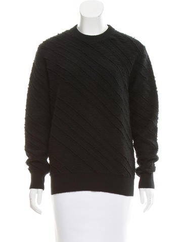 Proenza Schouler Wool Crew Neck Sweater None