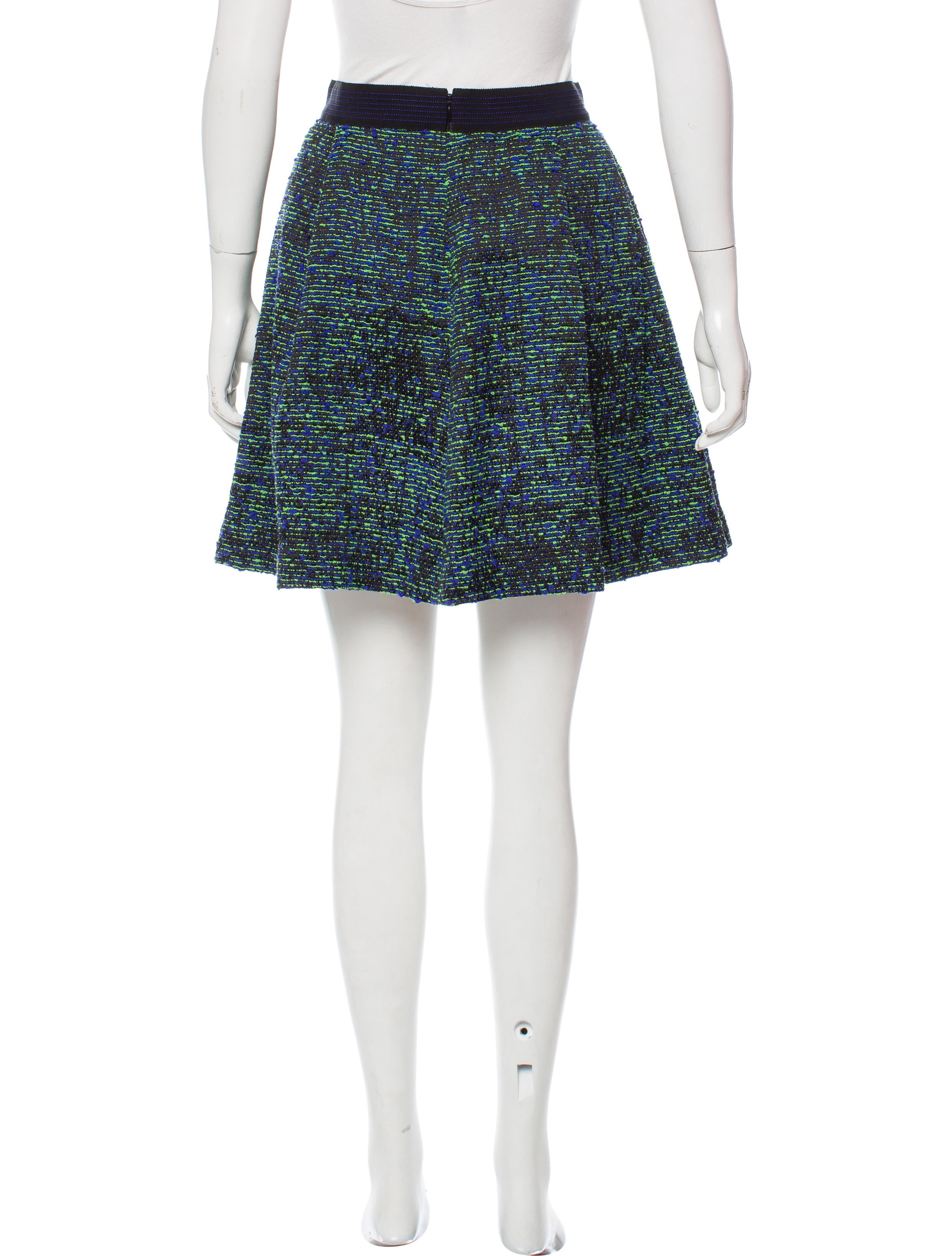 proenza schouler tweed a line skirt clothing pro38055