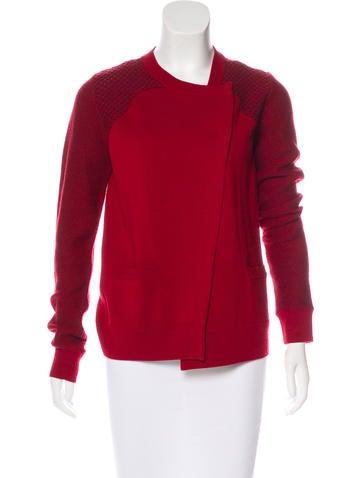 Proenza Schouler Wool Knit Cardigan None