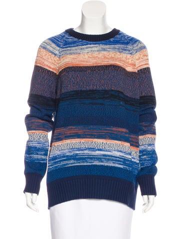 Proenza Schouler Striped Knit Sweater None