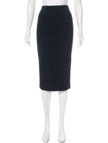 Proenza Schouler Knit Midi Skirt None