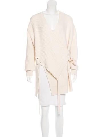 Proenza Schouler Asymmetrical Wool Sweater None