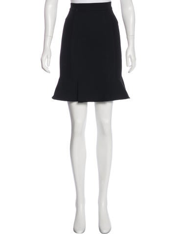 Proenza Schouler Rib Knit Knee-Length Skirt None